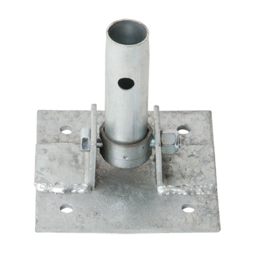 Swivel Base Plate With 5 5 Quot X 5 5 Quot Base Edmonton Scaffolding