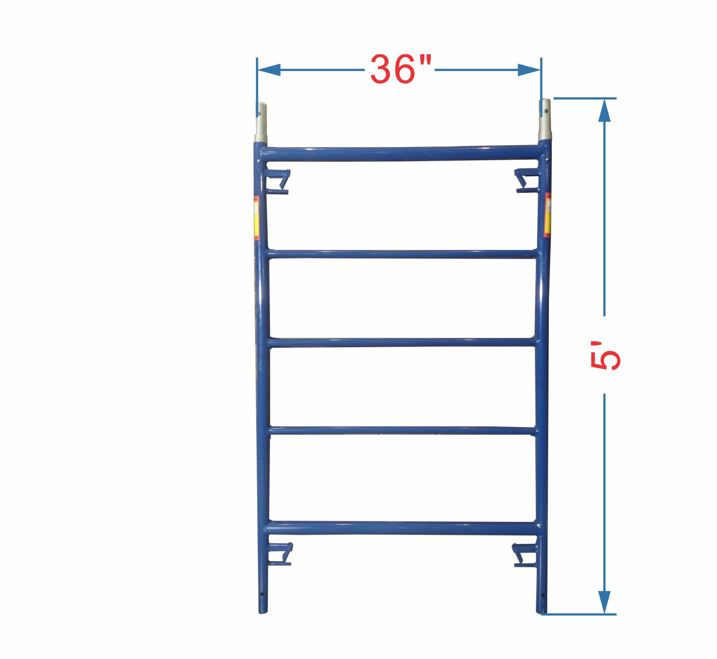 3 X 5 Ladder Frame Painted Edmonton Scaffolding